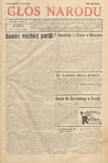 Głos Narodu. 1933, nr176