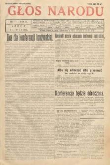 Głos Narodu. 1933, nr177