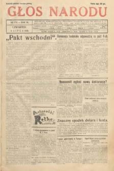 Głos Narodu. 1933, nr178