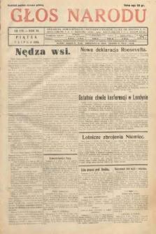 Głos Narodu. 1933, nr179