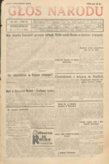 Głos Narodu. 1933, nr182