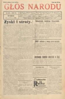 Głos Narodu. 1933, nr190