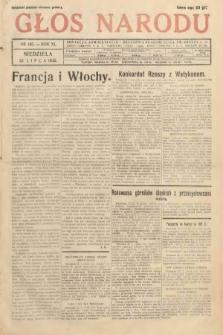 Głos Narodu. 1933, nr195