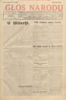 Głos Narodu. 1933, nr197