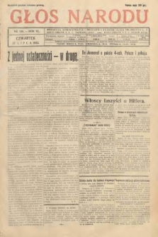 Głos Narodu. 1933, nr199