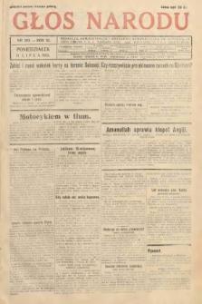 Głos Narodu. 1933, nr203