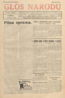 Głos Narodu. 1933, nr204