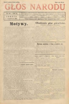 Głos Narodu. 1933, nr208