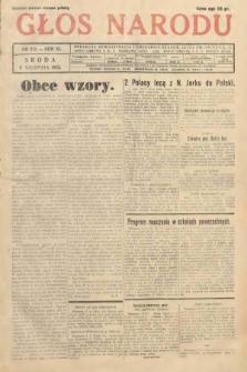 Głos Narodu. 1933, nr212