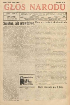 Głos Narodu. 1933, nr213