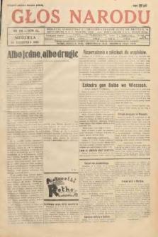 Głos Narodu. 1933, nr216