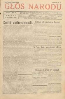 Głos Narodu. 1933, nr221