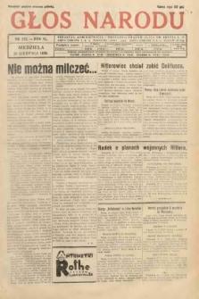 Głos Narodu. 1933, nr222