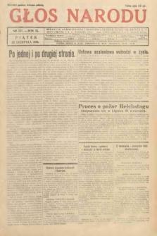 Głos Narodu. 1933, nr227