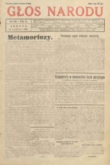 Głos Narodu. 1933, nr228