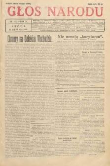 Głos Narodu. 1933, nr232