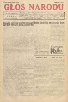 Głos Narodu. 1933, nr239