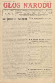 Głos Narodu. 1933, nr241