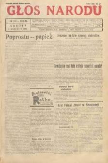 Głos Narodu. 1933, nr242