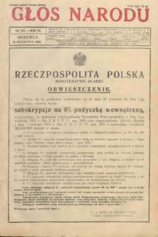Głos Narodu. 1933, nr243