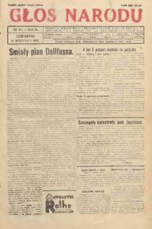 Głos Narodu. 1933, nr247