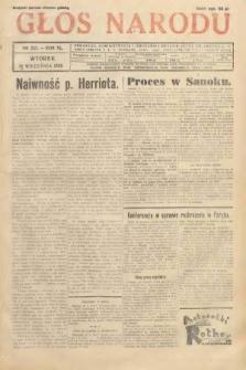 Głos Narodu. 1933, nr252