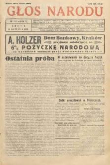 Głos Narodu. 1933, nr253