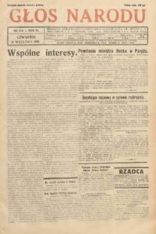 Głos Narodu. 1933, nr254