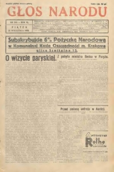 Głos Narodu. 1933, nr255