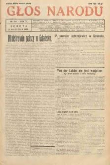 Głos Narodu. 1933, nr256