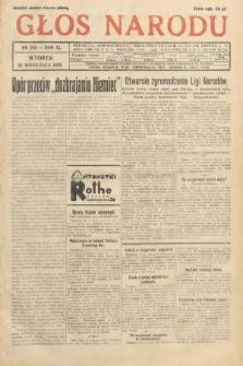 Głos Narodu. 1933, nr259