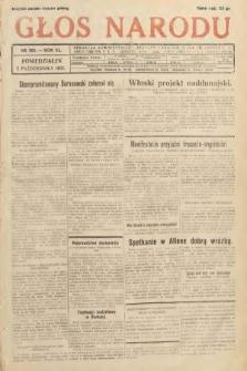 Głos Narodu. 1933, nr265