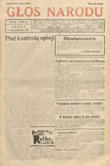 Głos Narodu. 1933, nr267
