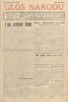 Głos Narodu. 1933, nr270