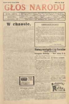 Głos Narodu. 1933, nr278
