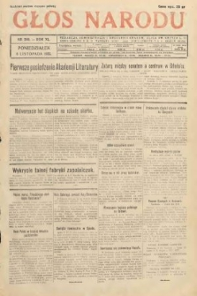 Głos Narodu. 1933, nr299