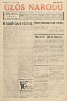 Głos Narodu. 1933, nr301