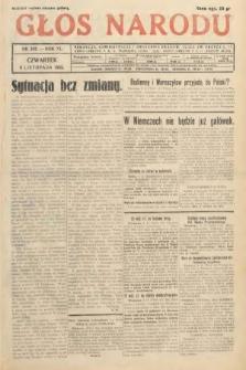 Głos Narodu. 1933, nr302
