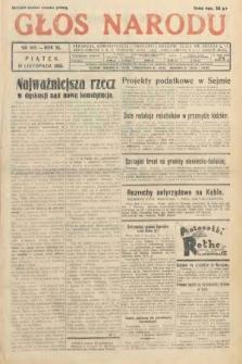 Głos Narodu. 1933, nr303