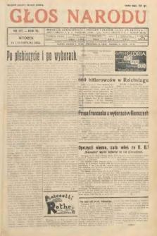 Głos Narodu. 1933, nr307