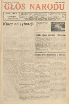 Głos Narodu. 1933, nr309