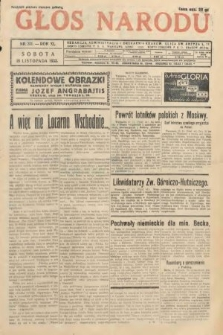 Głos Narodu. 1933, nr311