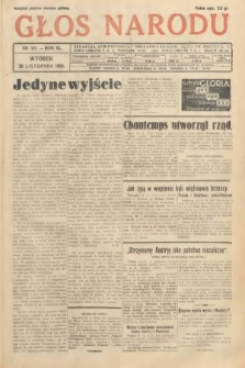 Głos Narodu. 1933, nr321