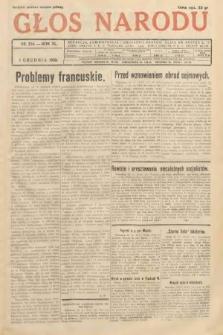 Głos Narodu. 1933, nr324