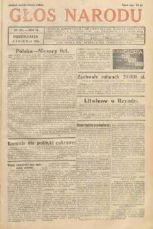 Głos Narodu. 1933, nr327
