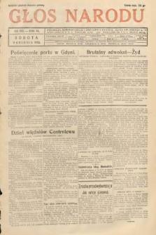 Głos Narodu. 1933, nr332