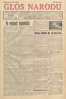 Głos Narodu. 1933, nr335