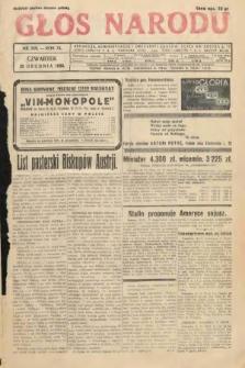Głos Narodu. 1933, nr349