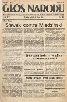 Głos Narodu. 1938, nr178