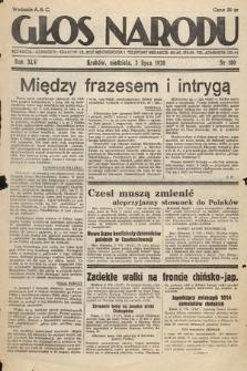 Głos Narodu. 1938, nr180